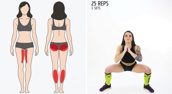 Six exercises that quickly strengthen and tone your body!