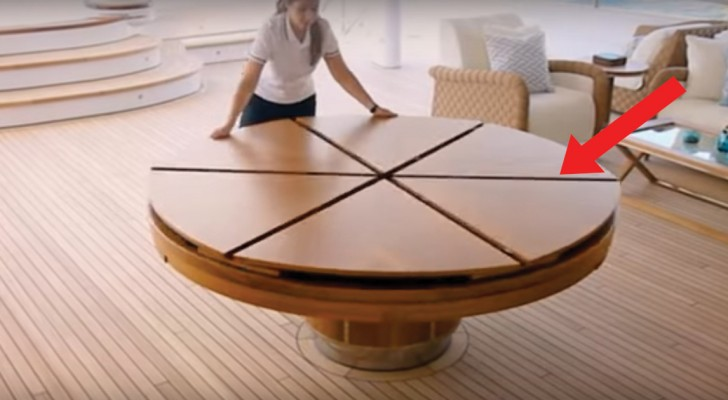 A magic dining table that expands in one movement for The fletcher capstan table price