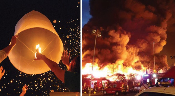 Lancer des lanternes chinoises pour le nouvel an ? Voici quelques bonnes raisons de ne PLUS le faire