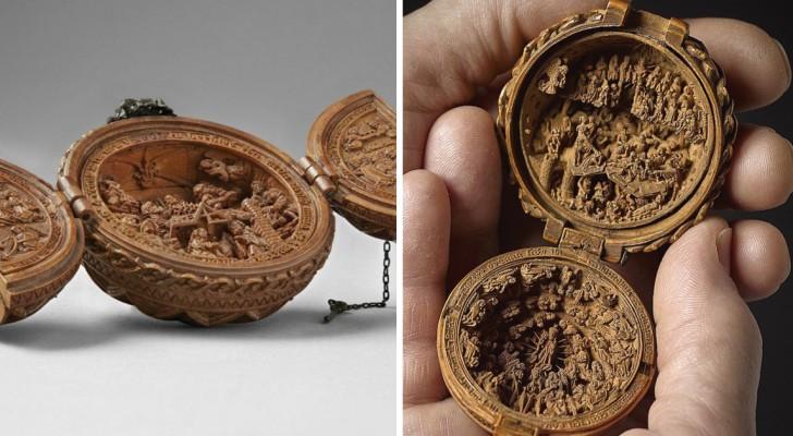Deze mysterieuze houtminiaturen uit de 16e eeuw zijn even klein als gedetailleerd