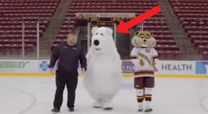 Crazy White Bear Mitsubishi and Gopher Hockey Outtakes!