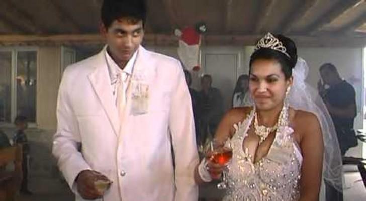 Es beginnt wie eine normale Hochzeit, doch dann folgen Überraschungen, die TREFFEN!