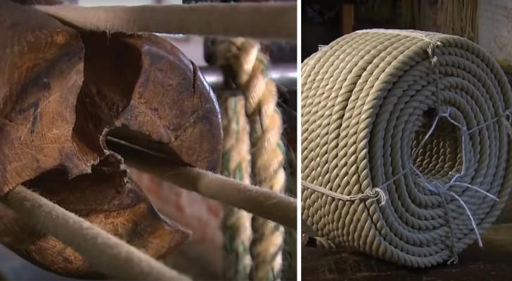 Att tillverka rep: ni kommer att häpna när ni ser vilket jobb det är!