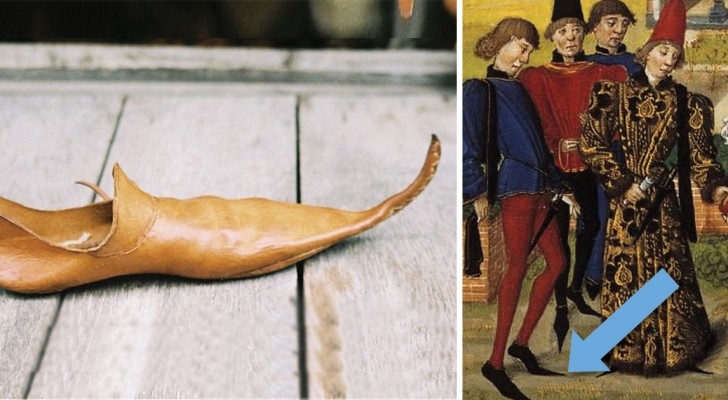 Mooie mode maar ten dode opgeschreven: de middeleeuwse lange puntschoenen waar de kerk niets van moest hebben