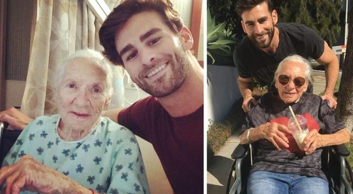 Lui ha 31 anni, lei 89: ecco come sono arrivati ad essere coinquilini