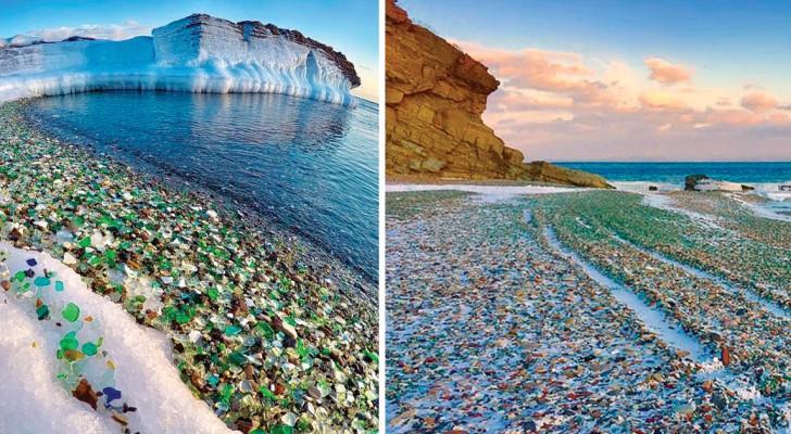 De décharge de bouteilles à paradis terrestre: admirez cette magie signée par Mère Nature