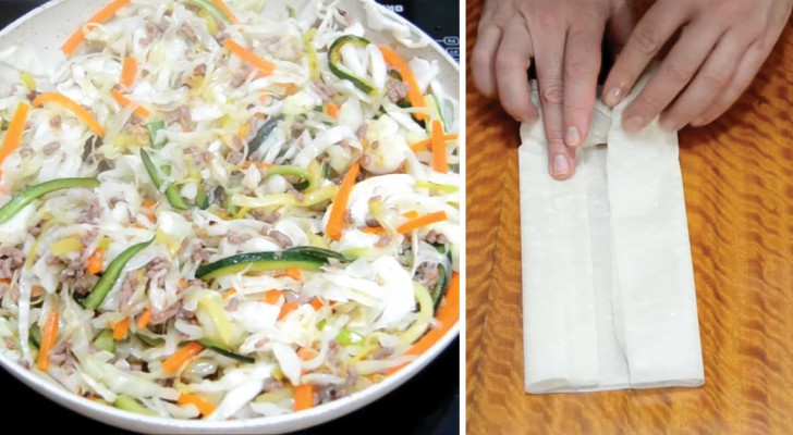 Delicious Homemade Chinese Spring Rolls!