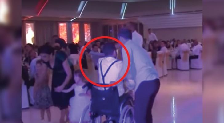 Ficou paralisado depois de um acidente de carro, mas no casamento da irmã ele surpreende a todos...