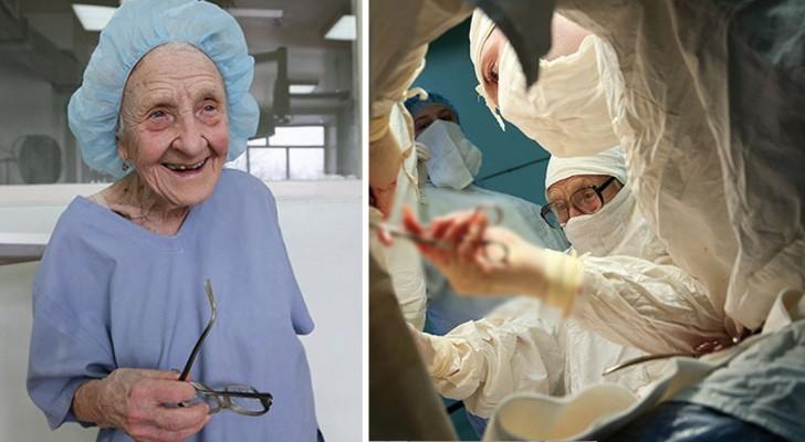 Elle a 89 ans et opère encore quatre patients par jour: voici la chirurgienne la plus âgée du monde