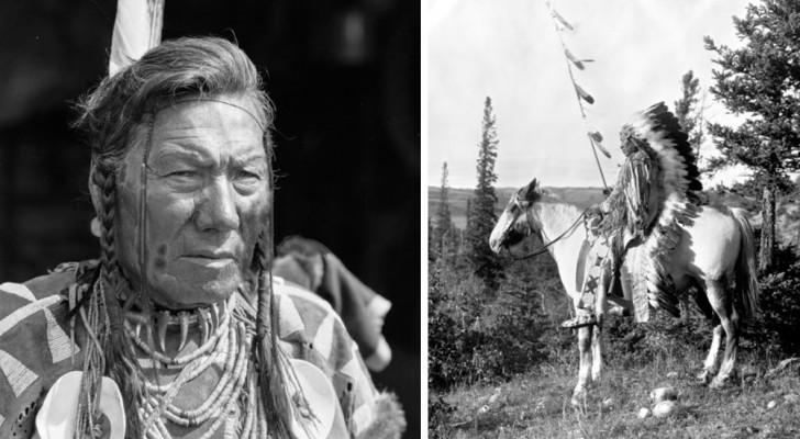 Alcuni meravigliosi ritratti scattati nel 1910 dei primi aborigeni canadesi