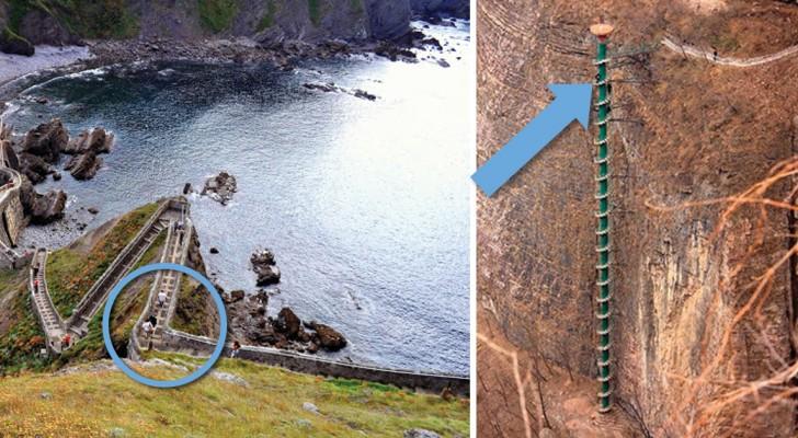 Vous avez le vertige? Voici les 7 escaliers les plus raides du monde