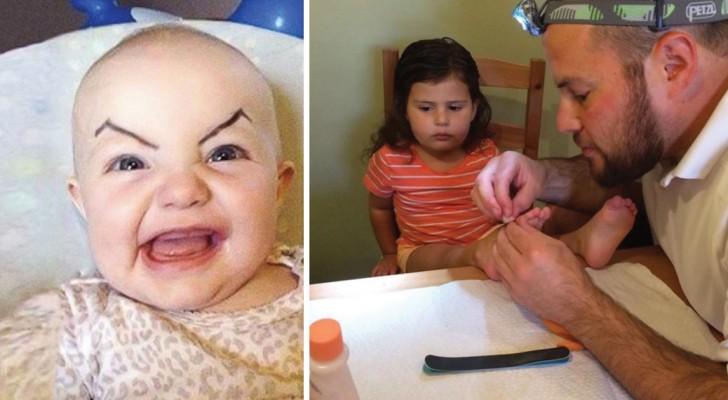 zorgzaam, grappig en attent: 13 foto's die bewijzen dat het vaderschap de mooiste taak is ter wereld