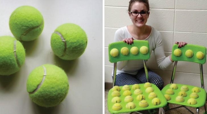 Stoelen met tennisballen waar leerlingen op kunnen zitten: dit idee van een leraar gaf onverwachte resultaten