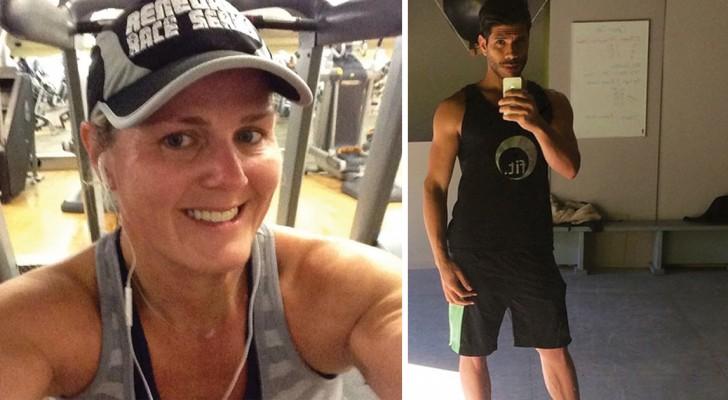 zet je altijd selfies van je workouts in de sportschool online? Wetenschappelijk gezien is dit niet bepaald goed