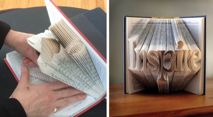 deze kunstenares verandert pagina's van een boek in schitterende kunstwerken