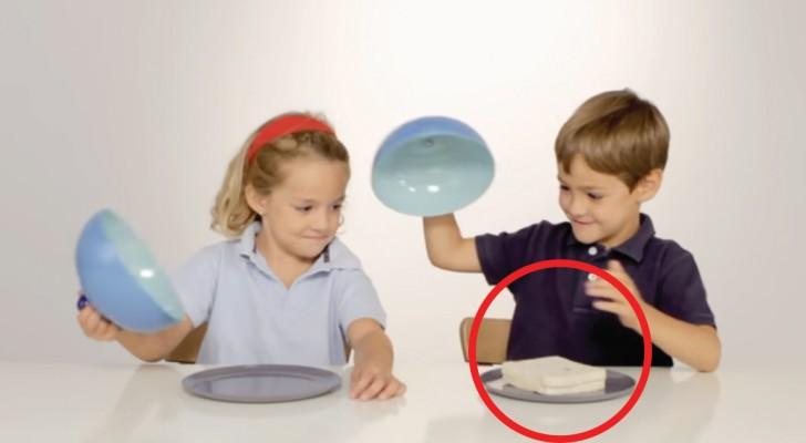 Bei diesem Experiment bekommt ein Kind Nahrung und das andere nicht: ihre Reaktion erteilt eine wichtige Lektion