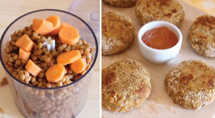 Polpette di lenticchie con carote: la ricetta originale e pratica che non può mancare nel ricettario