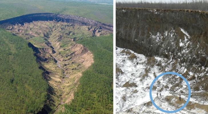 Ein Krater in Sibirien, der überdurchschnittlich schnell wächst: Die traurige Wahrheit hinter der Tür zur Unterwelt