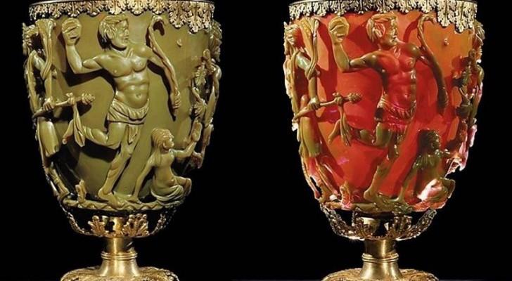Het mysterie achter de Lycurgusbeker gemaakt in de Romeinse tijd met een onmogelijke techniek
