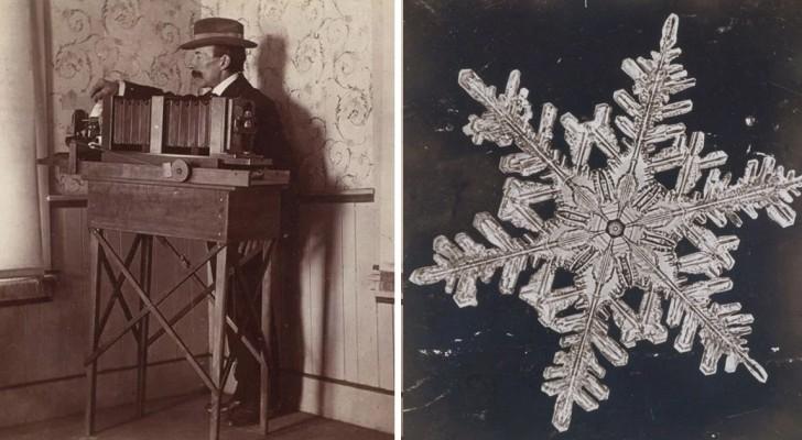 La prima foto di un fiocco di neve? Fu scattata nel lontano 1885