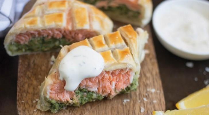 Saumon Wallington, le déjeuner en un plat unique et délicieux!