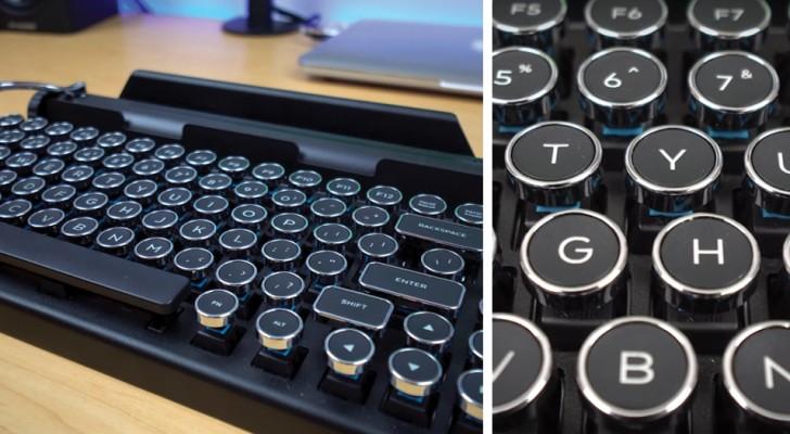 O teclado que transforma os dispositivos em uma máquina de escrever!