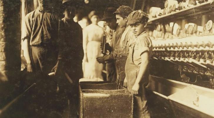 Photos d'enfants du début du 20e siècle... qui travaillaient plus dur que nous