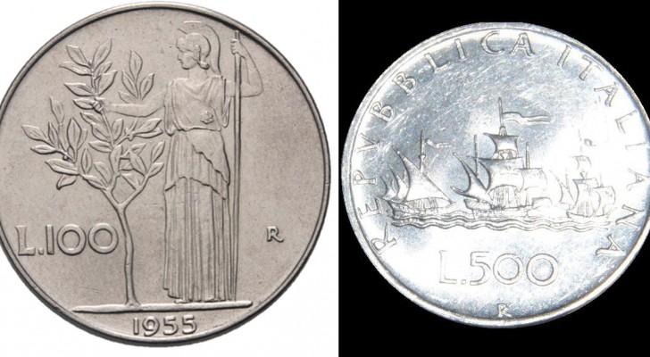 Alcune delle vecchie lire in moneta possono valere migliaia di euro a seconda dell'anno, la tiratura e la conservazione