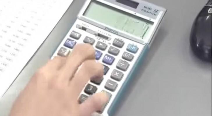 Niemand gebruikt een rekenmachine zoals de Japanners: kun jij het sneller?