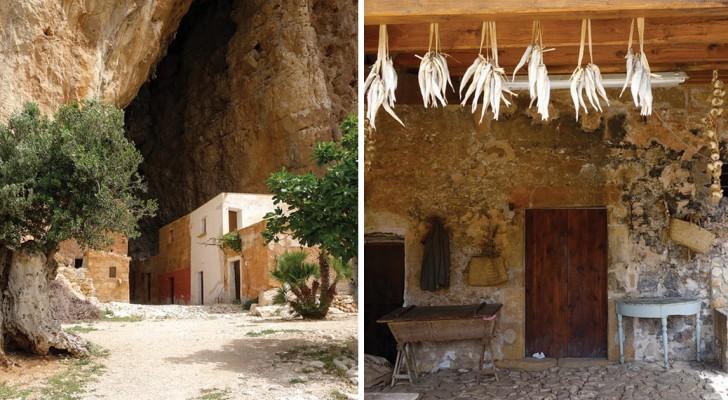 La Grotta Mangiapane, il borgo scavato nella roccia rimasto immutato nel tempo