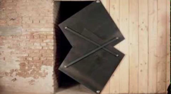 A very original door