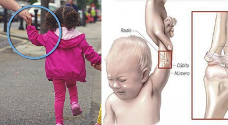 We spelen vaak op deze manier met kinderen, alleen weet niet iedereen wat dat met hun armen doet