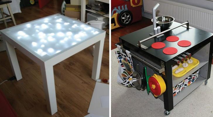 Niets kan tegen dit tafeltje van IKEA op: Dit ultragoedkope product leent zich voor elk soort ombouwproject