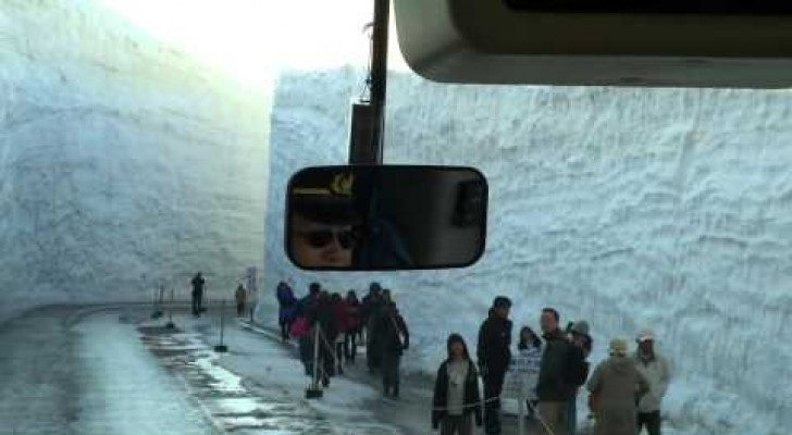 15 meters of snow in Japan