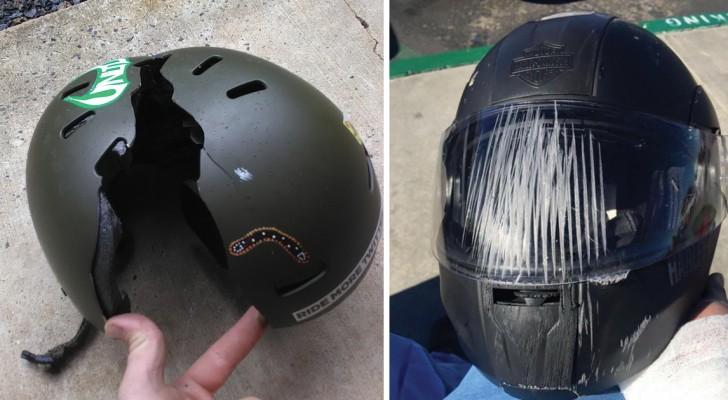 10 situations qui clarifieront une fois pour toutes si porter un casque est utile ou non