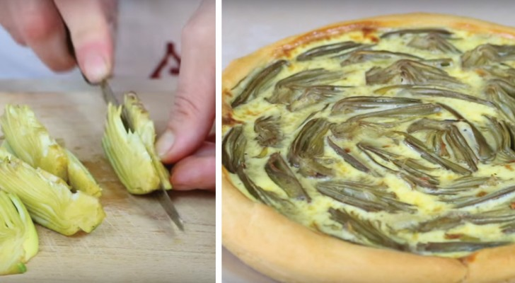 A Delicious Artichoke Savory Pie (Tart) recipe