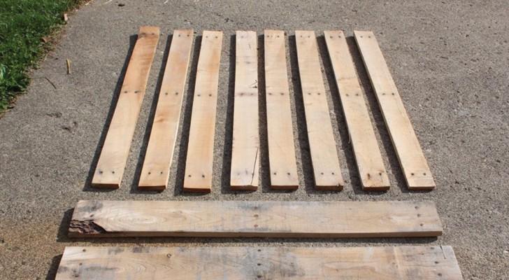 Van de industriële magazijnen direct naar je huis: 9 dingen die je met pallets kunt doen