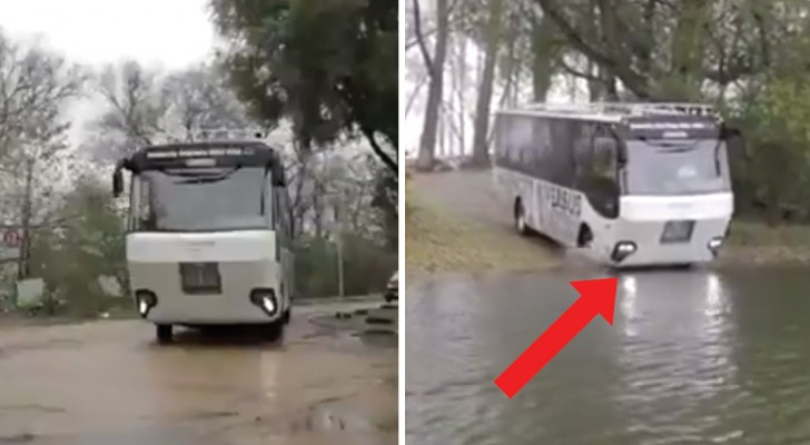 Come on! All aboard ..... the River Bus!