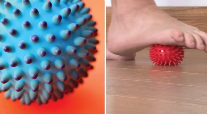 Alcuni semplici esercizi con la pallina terapeutica che ti daranno enormi benefici