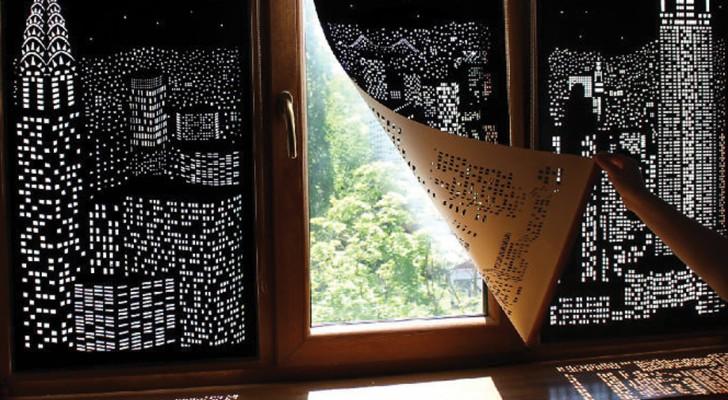 Il panorama che vedi dalla finestra non è dei migliori? Queste tende lo renderanno unico