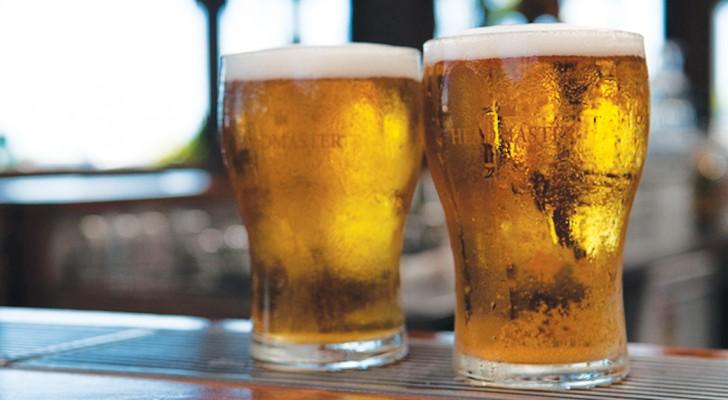 Deux verres de bière? C'est mieux que le paracétamol: l'étude de l'Université de Greenwich
