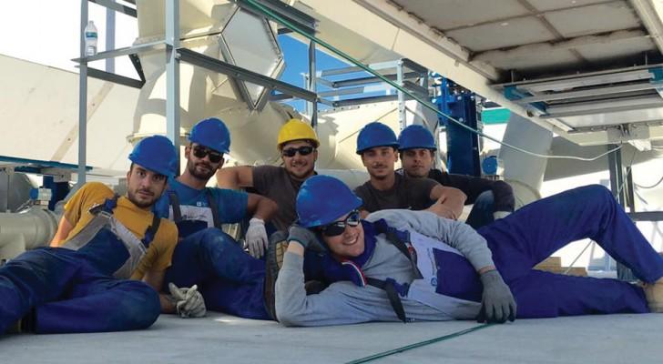 6 Italiaanse mannen verhuizen naar Californië en ontdekken hoe ze rioolwater in schone energie kunnen omzetten