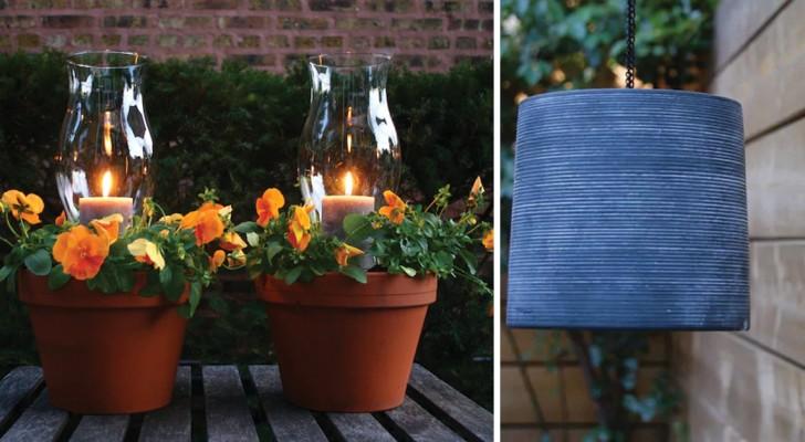 Lanterne Da Giardino Fai Da Te : Idee per impreziosire il giardino con lavoretti fai da te e quasi