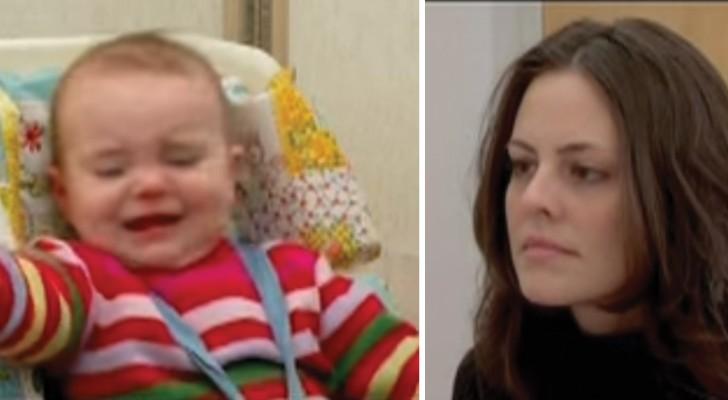 Het kind wordt genegeerd door de moeder: dit experiment toont de gevolgen van het in de steek laten van een baby!