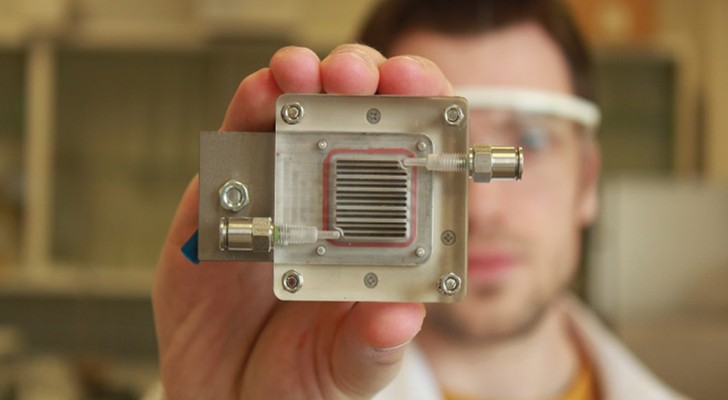 Estrarre idrogeno dall'aria inquinata: questo dispositivo lo permette