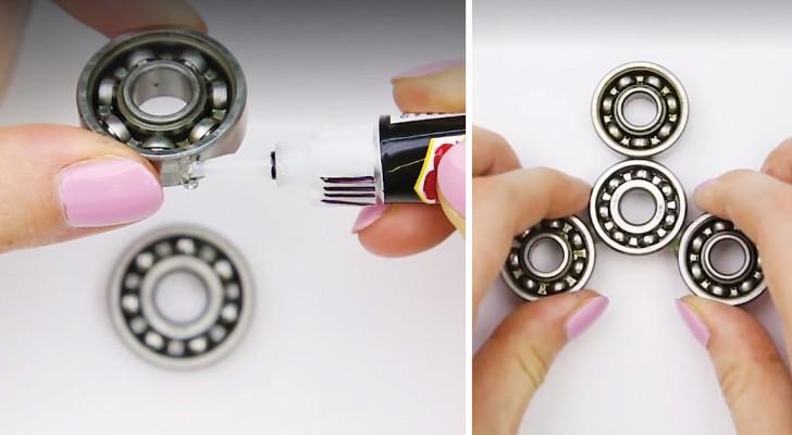 De Fidget spinner doe-het-zelf versie: 2 manieren om het spel van het moment zelf te maken