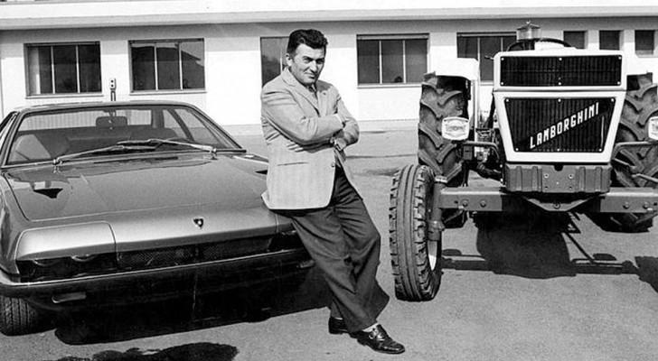 Der Sportwagen Lamborghini entstand, weil Enzo Ferrari einen Traktorproduzenten beleidigte