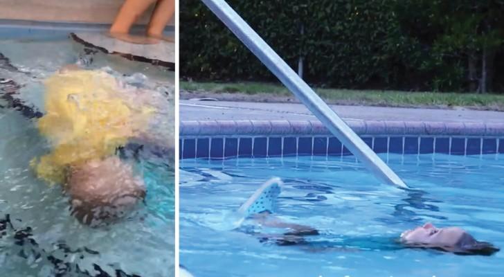 Il metodo ISR che salva la vita ai bambini che cadono in acqua: guardatelo in azione per capirne l'importanza