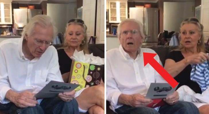 El dia de la fiesta del papa le dicen que se convertira en abuelo: la reaccion del hombre es bellisima