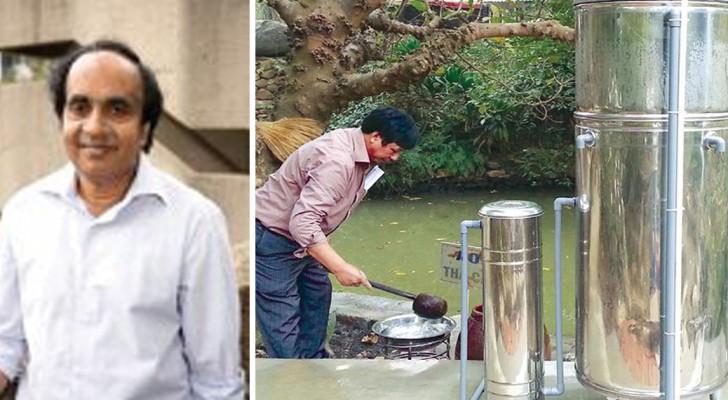 Twee ingenieurs maken een goedkoop filter dat arseen uit het water kan halen
